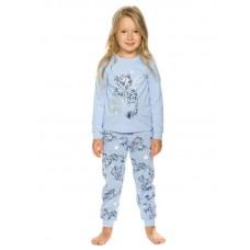 Пижама для девочки Pelican WFAJP3208U голубая
