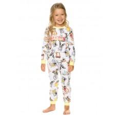 Пижама для девочки Pelican WFAJP3210U белая