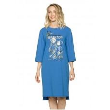 Платье женское Pelican PFDJ6810 синее