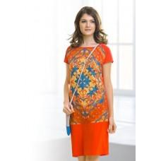 DDT681 Платье женское Pelican, orange