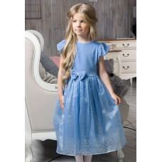 Платье для девочки Pelican GDT3003/1 лаванда