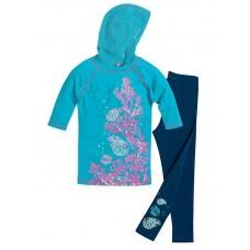 Комплект для девочки Pelican GAML387/1 aquamarine