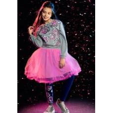Юбка для девочки Pelican GFS4007 розовая