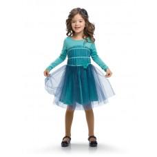 GDJ382 Платье для девочек Pelican, aquamarine
