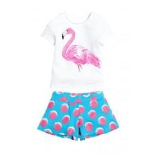 GATH395 Комплект для девочек Pelican, белый-white