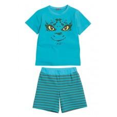 BNTH367 Пижама для мальчиков Pelican, бирюза-turquoise