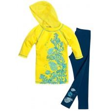 Комплект для девочки Pelican GAML387/1 yellow