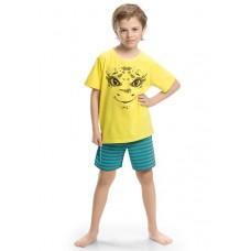 BNTH367 Пижама для мальчиков Pelican, желтый-yellow