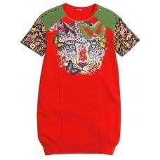 Платье для девочки Pelican GDT492 red