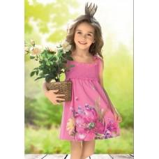 GDN393 Сарафан для девочек Pelican, розовый-rose