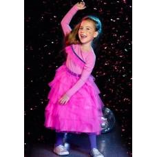 Платье для девочки Pelican GFDJ3007 розовое