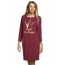 PFDJ6743/1 Платье женское Pelican, вишневое