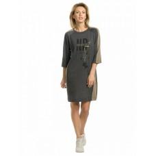 DFDJ6780 Платье женское Pelican, темно-серое