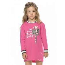 Платье для девочки Pelican GFDJ3195 малиновое