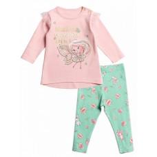 Комплект для девочки Pelican GFAJL1200 розовый