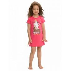 Ночная сорочка для девочки Pelican WFDT3145U малиновая