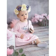 GFDJ1147 Платье для девочек Pelican, розовое