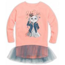 GFDJ3031/1 Платье для девочек Pelican, персиковое