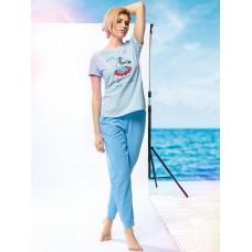 Комплект женский Pelican PFATP6766 голубой