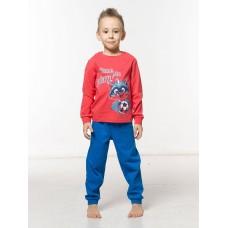 NFAJP3101 Пижама для мальчиков Pelican, красная