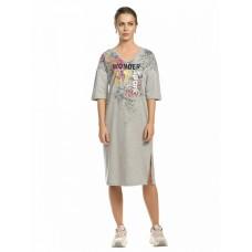 DFDT6800 Платье женское Pelican, серое