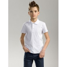 """Джемпер(модель """"футболка"""") для мальчика Pelican BTRP8002U белая"""