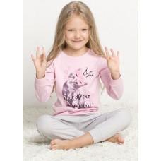WFAJP3084 Пижама для девочек Pelican, розовая
