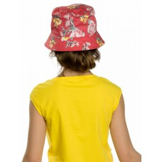 Панама для девочки Pelican GWQO4121 красная
