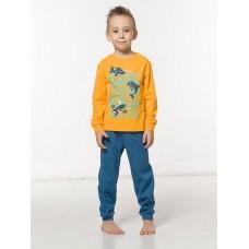 NFAJP3100 Пижама для мальчиков Pelican, оранжевая