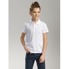 """Джемпер(модель """"футболка"""") для мальчика Pelican BTRP7002U белая"""