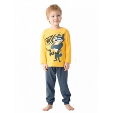 NFAJP3171U Пижама для мальчиков Pelican, желтая