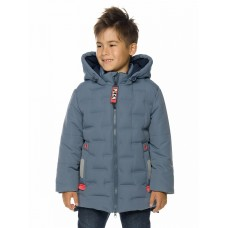 Куртка для мальчика Pelican BZXL3193/1 серая