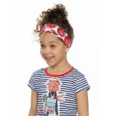 Повязка на голову для девочки Pelican GFQF3120 красная