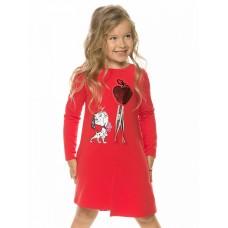 Платье для девочки Pelican GFDJ3196 красное
