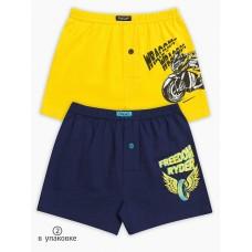 Трусы для мальчика Pelican BUB3102(2) желтый/темно-синий