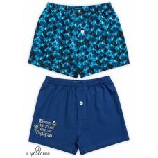 Трусы для мальчика Pelican BUB3076(2) синий/темно-синий
