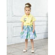 Блузка для девочки Pelican GWCT3111 желтая