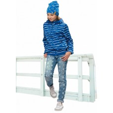 Ветровка для девочки Pelican GZIN4049 синяя