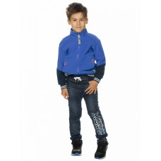 Брюки для мальчика Pelican BGPQ3193 темно-синие