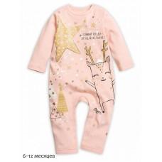 Комбинезон для девочки Pelican GFRJ1785 розовый