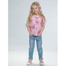 Блузка для девочки Pelican GWCJ3109 пудра