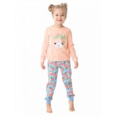 WFAJP3180U Пижама для девочек Pelican, персиковая
