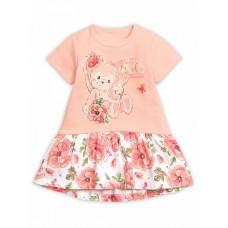 GFDT1167/1 Платье для девочек Pelican, персиковое