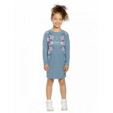Платье для девочки Pelican GFDJ3135 серое