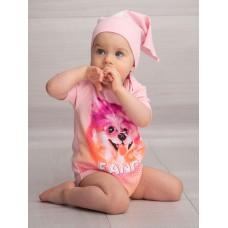 Полукомбинезон для девочки Pelican GFOT1165 розовый