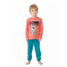 NFAJP3172U Пижама для мальчиков Pelican, оранжевая