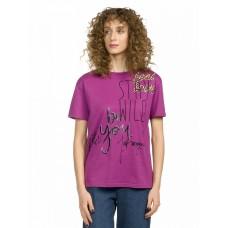 """Джемпер (модель """"футболка"""") женский Pelican DFT6666 фиолетовая"""