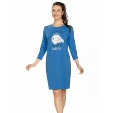 Платье женское Pelican PFDJ6775 синее