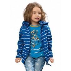 Ветровка для девочки Pelican GZIN3049 синяя