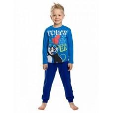 NFAJP3142U Пижама для мальчиков Pelican, лазурная